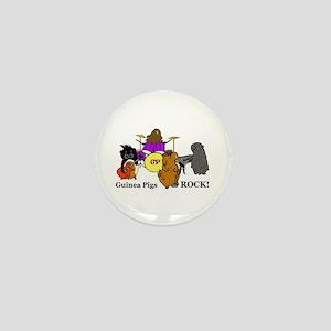 Guinea Pigs Rock! Mini Button