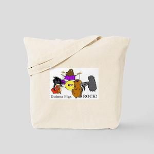 Guinea Pigs Rock! Tote Bag