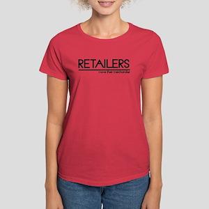 Retailer Joke Women's Dark T-Shirt