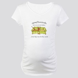 Racing For The Couch Maternity T-Shirt