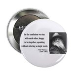 "Walter Whitman 4 2.25"" Button (100 pack)"