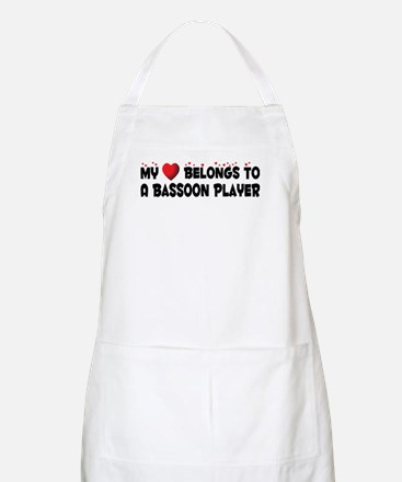 Belongs To A Bassoon Player BBQ Apron