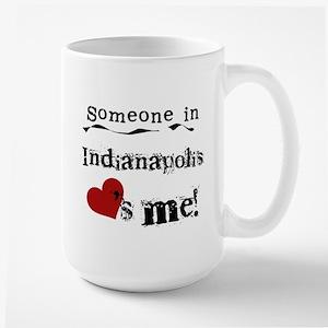 Indianapolis Loves Me Large Mug