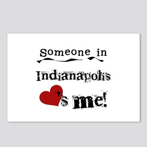 Indianapolis Loves Me Postcards (Package of 8)