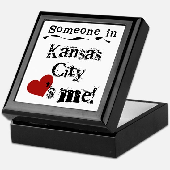 Kansas City Loves Me Keepsake Box