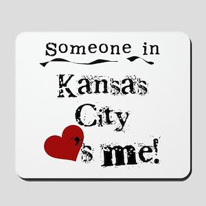 Kansas City Loves Me Mousepad