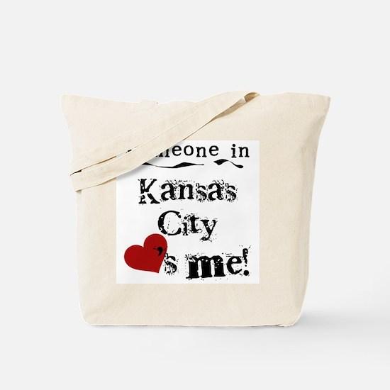 Kansas City Loves Me Tote Bag