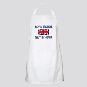 Born American, British by Hea BBQ Apron