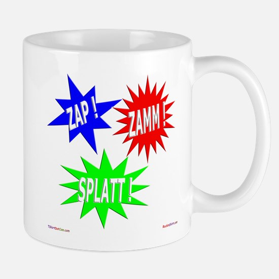 Zap Zamm Splatt Mug