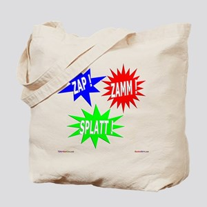 Zap Zamm Splatt Tote Bag