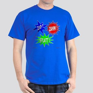 Zap Zamm Splatt Dark T-Shirt