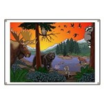 Kid's Canada Wildlife Art Banner