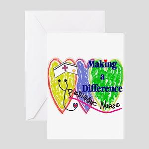 PEDS Nurse Greeting Cards
