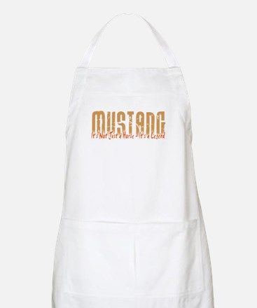 Mustang Horse BBQ Apron