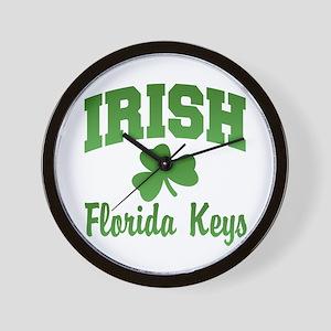 Florida Keys Irish Wall Clock