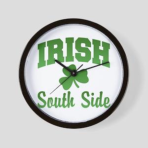 South Side Irish Wall Clock