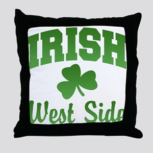 West Side Irish Throw Pillow