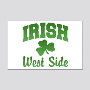 West Side Irish Mini Poster Print