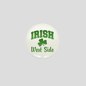 West Side Irish Mini Button