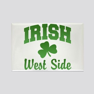 West Side Irish Rectangle Magnet