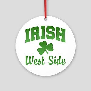 West Side Irish Ornament (Round)