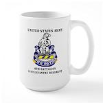 6th Battalion 31st Infantry Regiment Large Mug
