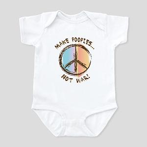 War is Poopie Infant Bodysuit