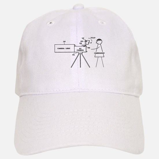 Cameraman Baseball Baseball Cap