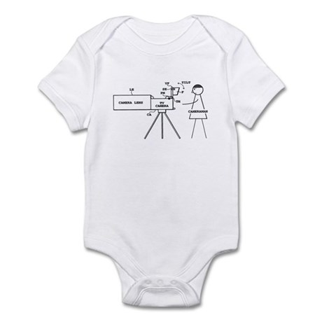 Cameraman Infant Bodysuit