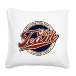 otherteam Square Canvas Pillow