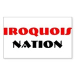 IROQUOIS NATION Rectangle Sticker