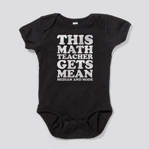 This Math Teacher Gets Mean Medain And M Body Suit