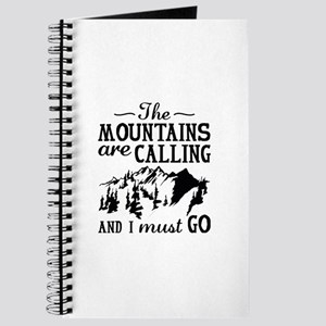 The Mountains Are Calling Journal