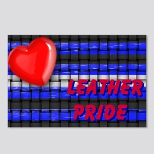 LEATHER PRIDE 2009 Postcards (Package of 8)