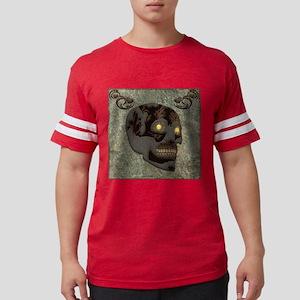 Beautiful sugar skull, steampunk design T-Shirt
