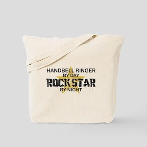 Handbell Ringer Rock Star Tote Bag