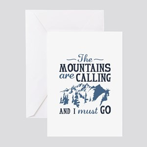 The Mountains Are Calling Greeting Cards (Pk of 20