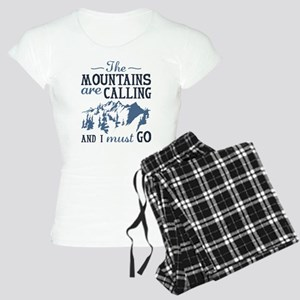 The Mountains Are Calling Women's Light Pajamas
