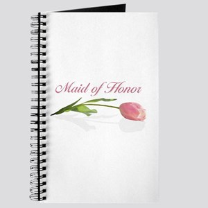 Pink Tulip Maid of Honor Journal