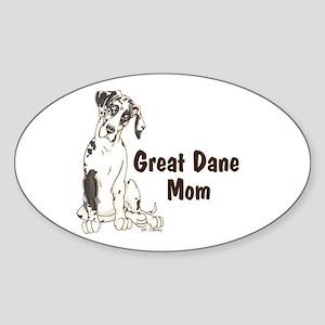 NH GD Mom Oval Sticker