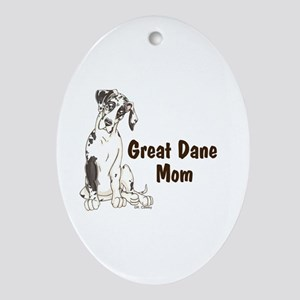 NH GD Mom Oval Ornament
