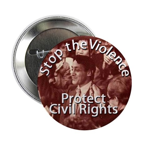 "Harvey Milk Civil Rights 2.25"" Button (100 pack)"