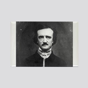 Edgar Allan Poe Rectangle Magnet
