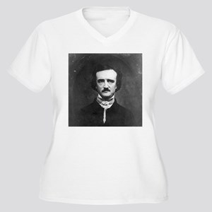 Edgar Allan Poe Women's Plus Size V-Neck T-Shirt