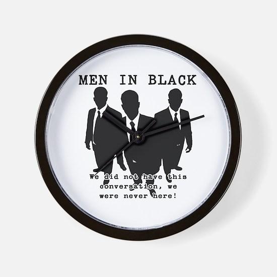 Men In Black 3 Wall Clock