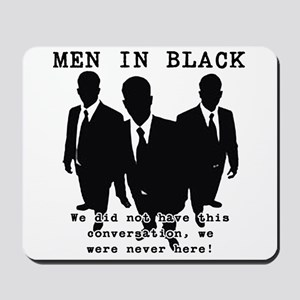 Men In Black 3 Mousepad