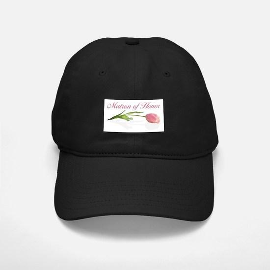 Pink Tulip Matron of Honor Baseball Hat