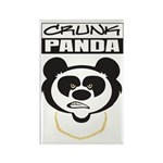 Crunk Panda™ Rectangle Magnet (10 pack)