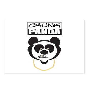 Crunk Panda™ Postcards (Package of 8)