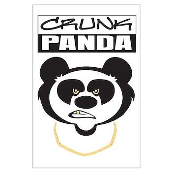 Crunk Panda™ Large Poster